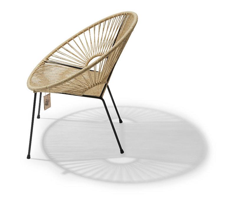 Copy of Luna Chair Black/Yellow