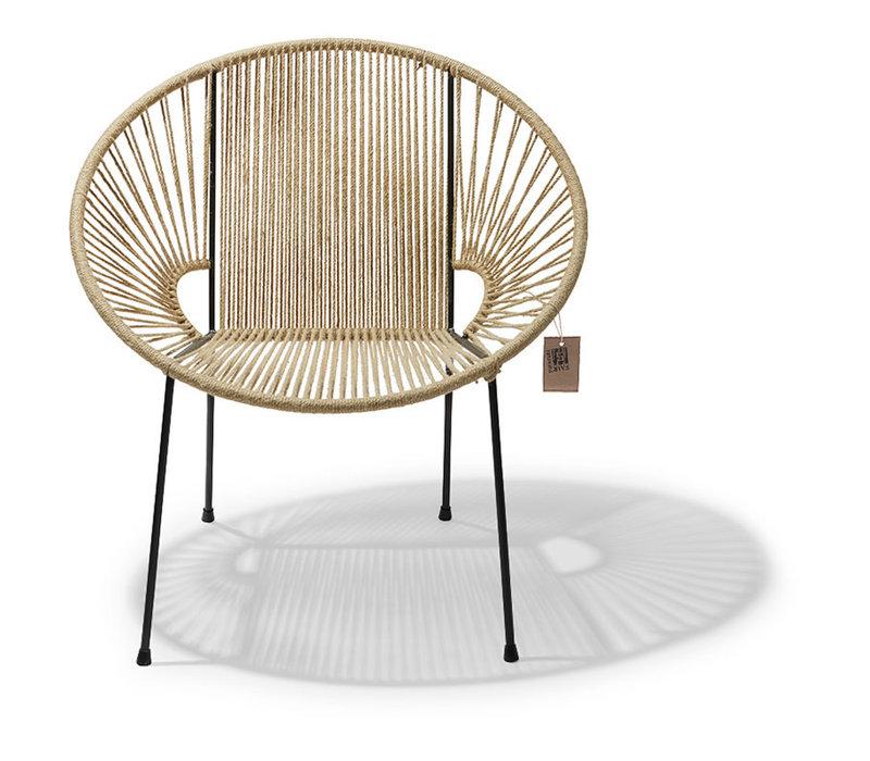 Luna Chair Black/Hemp