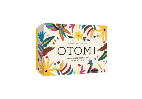 Exhibitions International Otomi Notecards, 12 Notecards with Envelopes