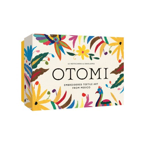 Otomi Notecards, 12 Wenskaarten