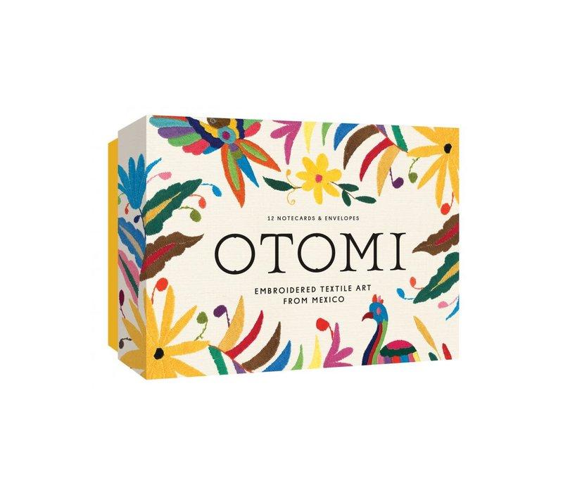 Otomi Notecards, 12 Wenskaarten met Enveloppen
