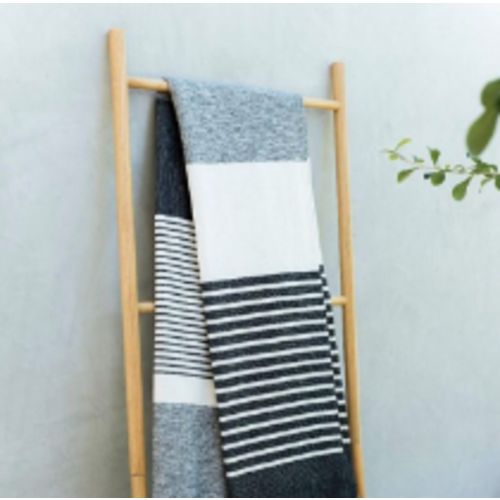 Light Throw - Multi Grey - 152x218cm