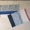 Hula Placemat/Napkin - Blue/Grey - Set of 4