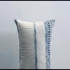 "Hula Cushion ""Cielo"" Long Vertical Stripes"