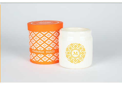 Meshic Scented Candle - Naranja Dulce