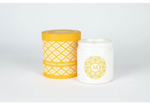 Meshic Scented Candle - Toronja Mandarina