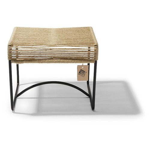 Xalapa Stool Black/Hemp
