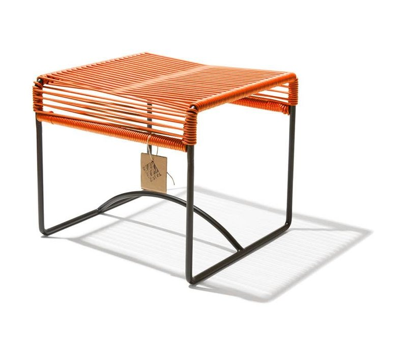 Xalapa Stool Black/Orange