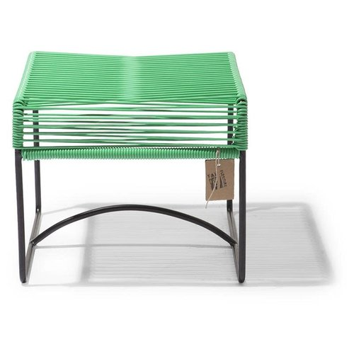 Xalapa Stool Black/Apple Green