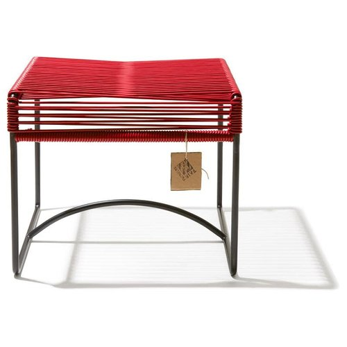 Xalapa Stool Black/Red