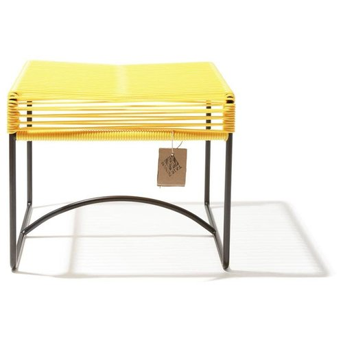 Xalapa Stool Black/Canary Yellow
