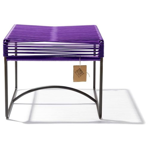 Xalapa Stool Black/Purple