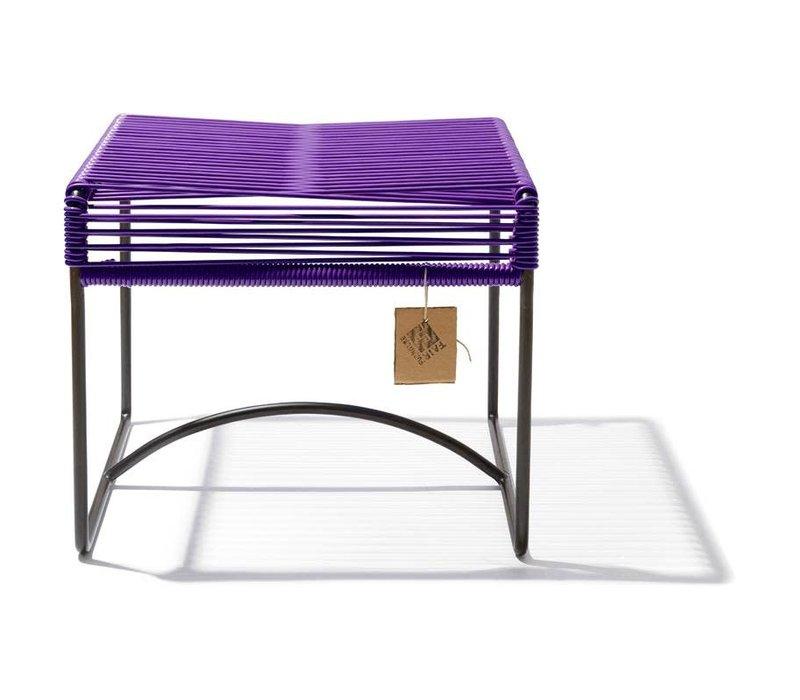 Xalapa Stool Black/Purple