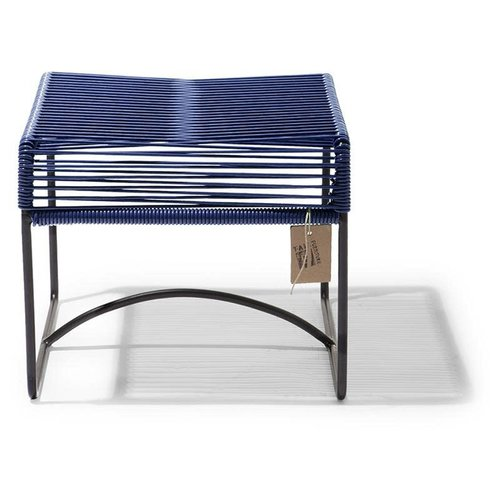 Xalapa Stool Black/Cobalt Blue