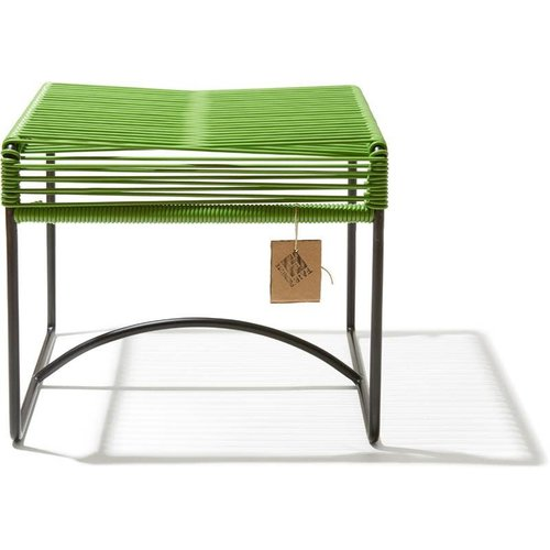 Xalapa Stool Black/Olive Green