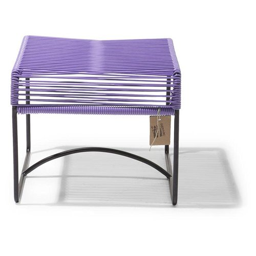 Xalapa Stool Black/Lilac