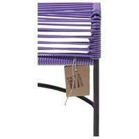 Xalapa Stool Black/Lilac