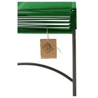 Xalapa Stool Black/Dark Green