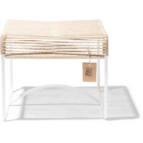 Xalapa Stool White/Hemp