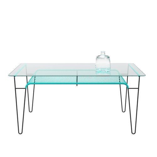 Cordable Table Turquoise