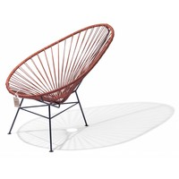 Acapulco Lounge Chair Black/Leather