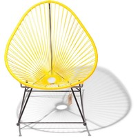 Acapulco Rocking Chair Black/Yellow