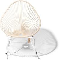 Acapulco Rocking Chair White/Hemp