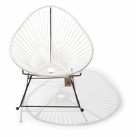 Acapulco Rocking Chair Black/White