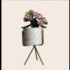 Talateca Flower Pot Ananda - White - Small ø10 cm x 8 cm