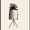Talateca Bloempot Ananda - Wit - Medium ø10 cm x 10 cm