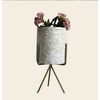 Talateca Bloempot Ananda - Wit - Large ø10 cm x 12 cm