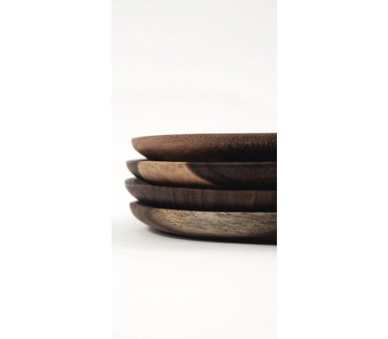 Wooden Plate Parota