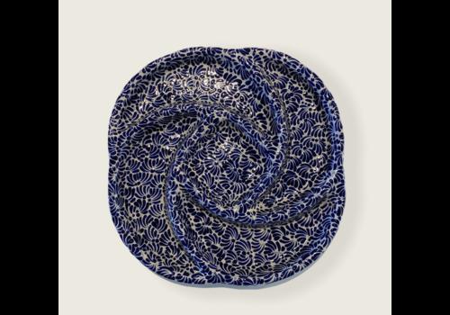 Talateca Botanero Schaal - Kobalt Blauw