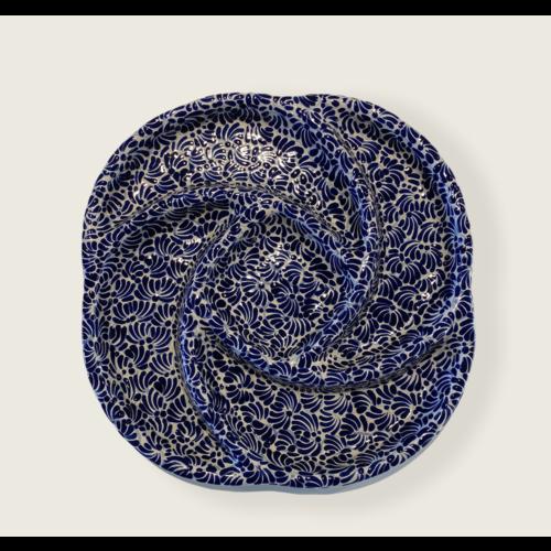 Botanero Schaal - Kobalt Blauw