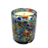 Meshic Glass Candle - Pintas Multi Colour - Non-Scented