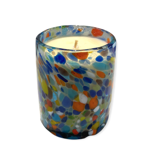 Glass Candle - Pintas Multi Colour - Geurvrij