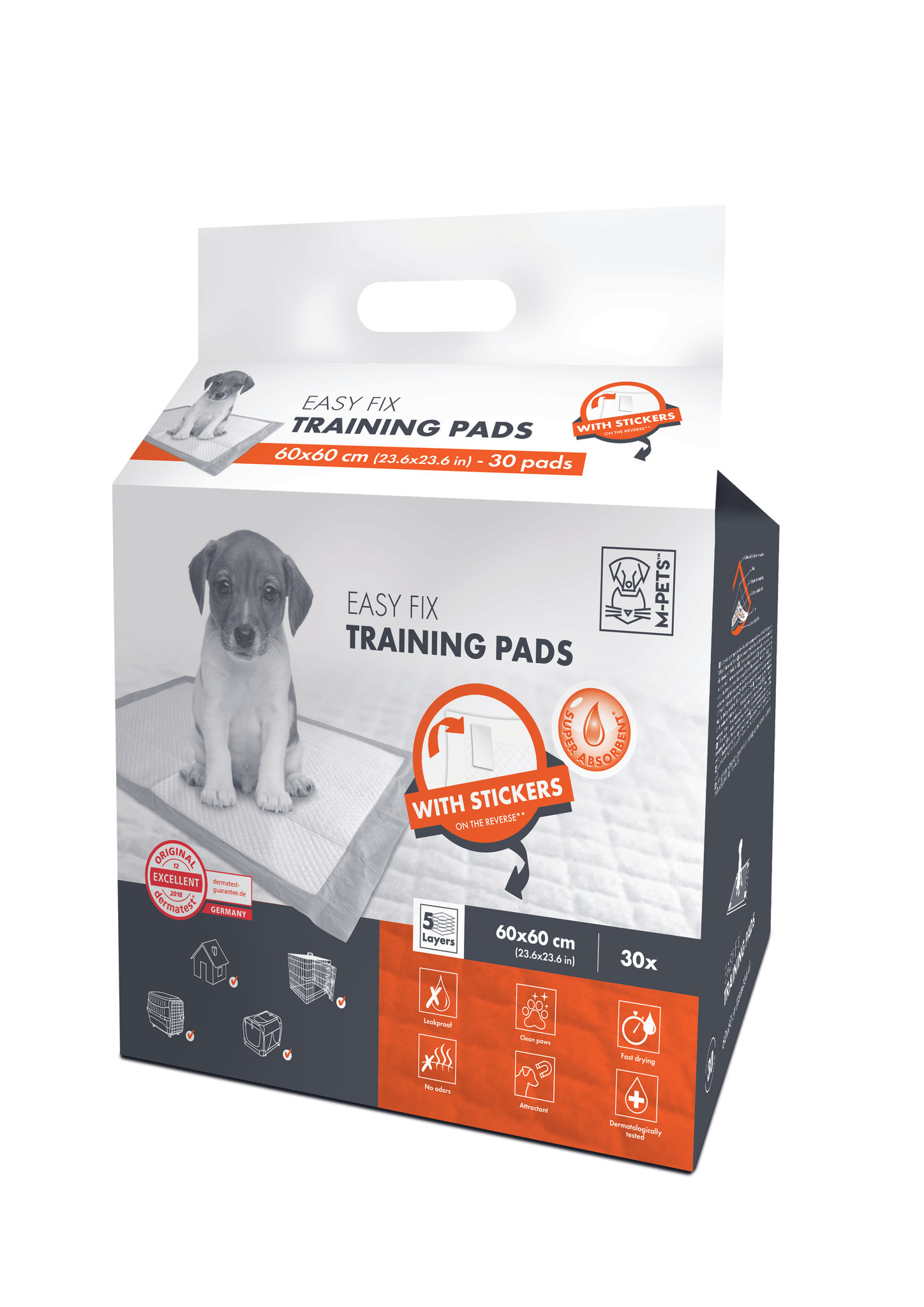 Easy Fix Puppy Training Pads 30 stuks 60x60 cm