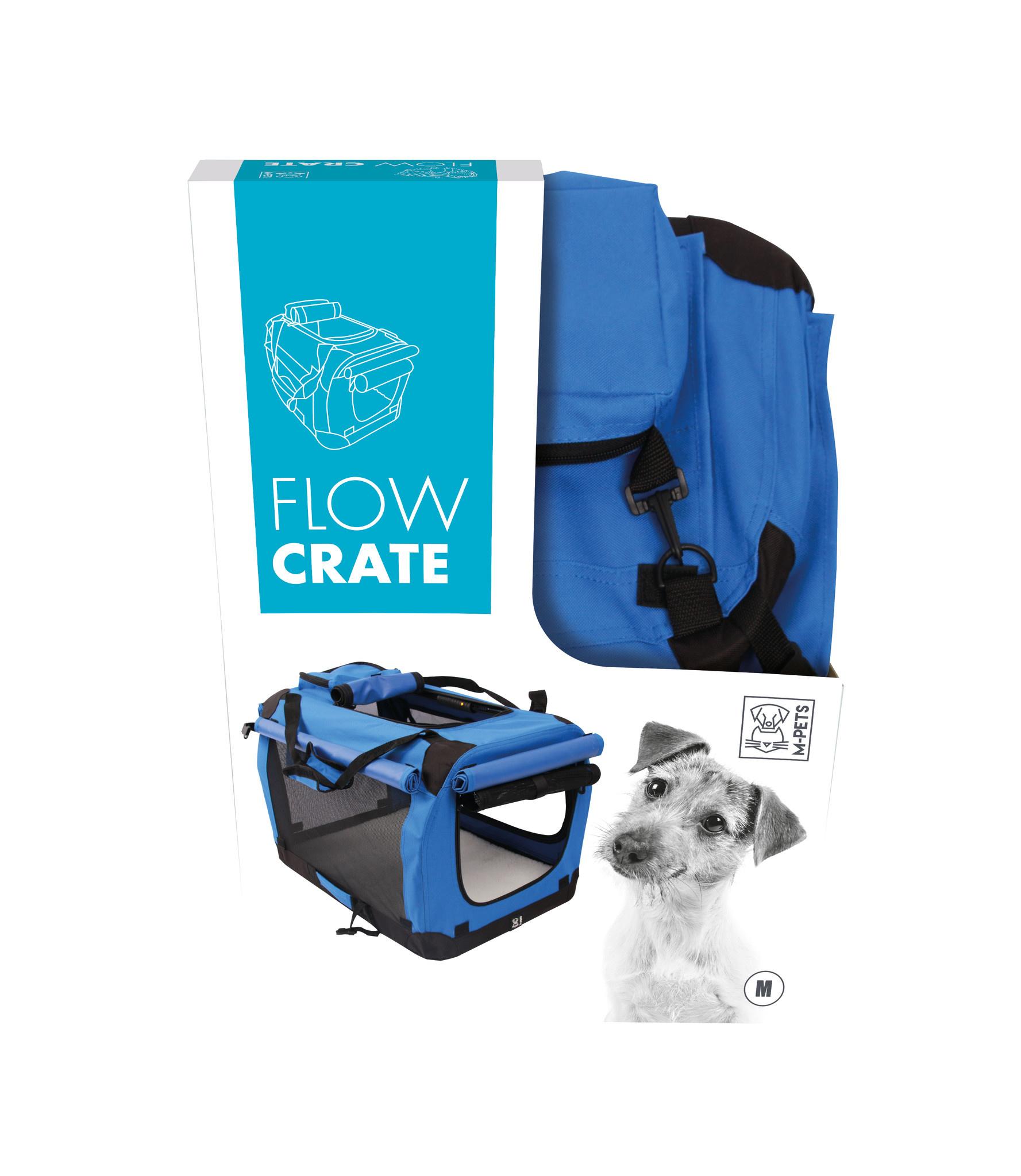 Reisbench Flow Crate Blauw