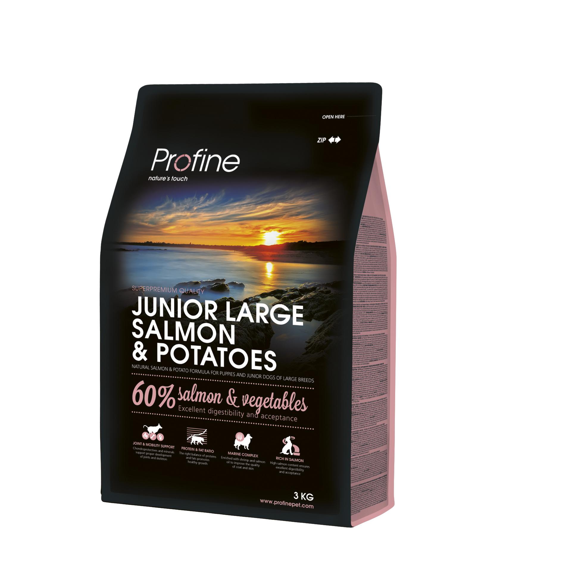 Profine Junior Large Zalm 3 KG