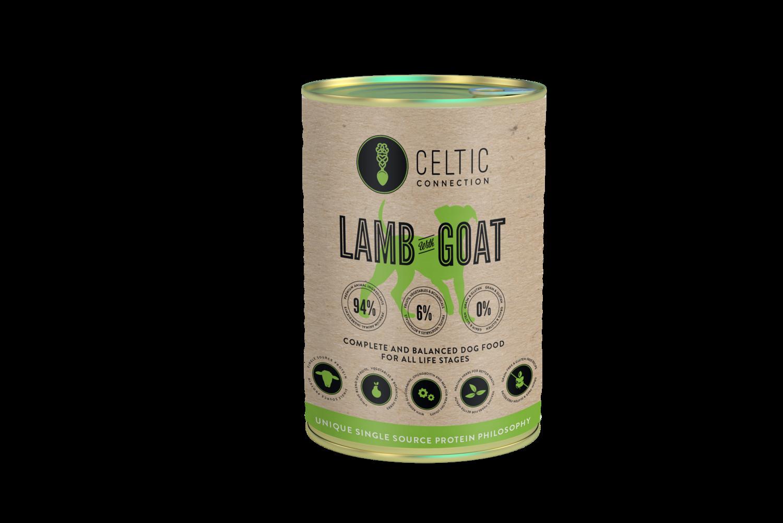 Lamb & Goat Natvoer Blik 400g