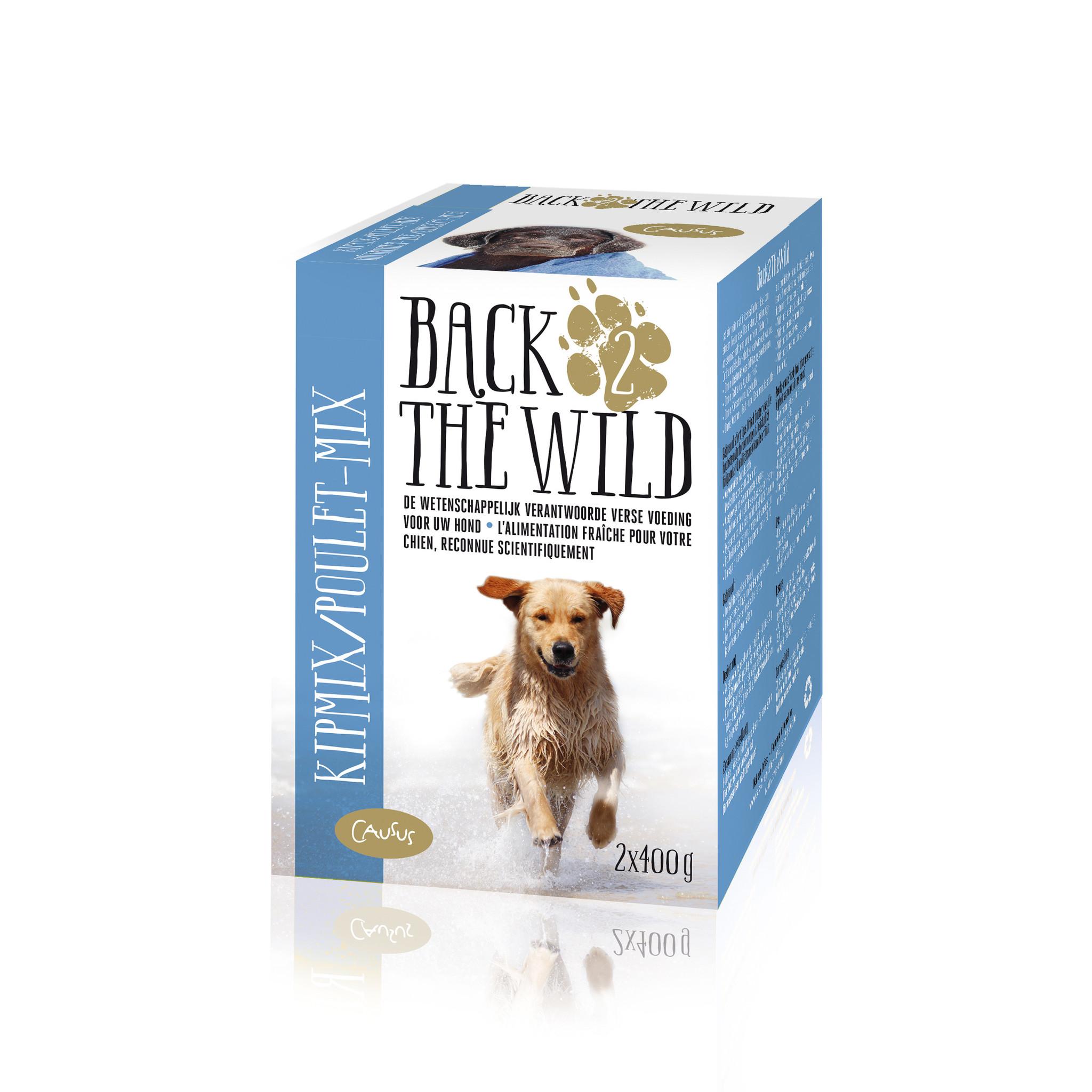 Back 2 The Wild Diepvries voeding 800 g.