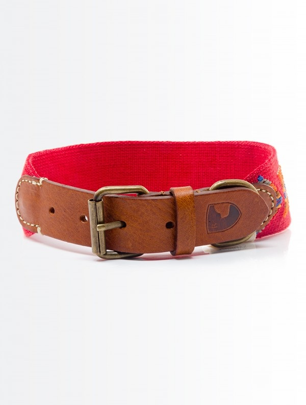 Buddy's Etna Red Halsband