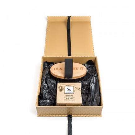 Geschenkbox Borstel en Zeep Lang Haar