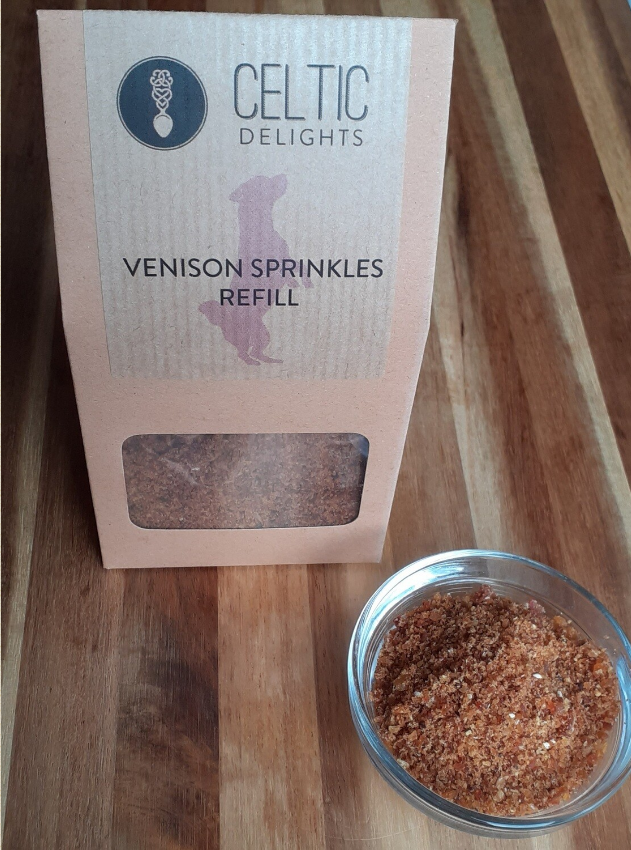 Celtic Delights Venison Sprinkles Refil
