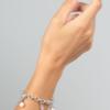Charm Bracelet Charlotte Silver