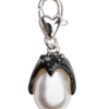Charm Necklace Perky Penguin Silver