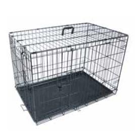 Bench Voyager Wire Crate 2 deuren Securo Lock