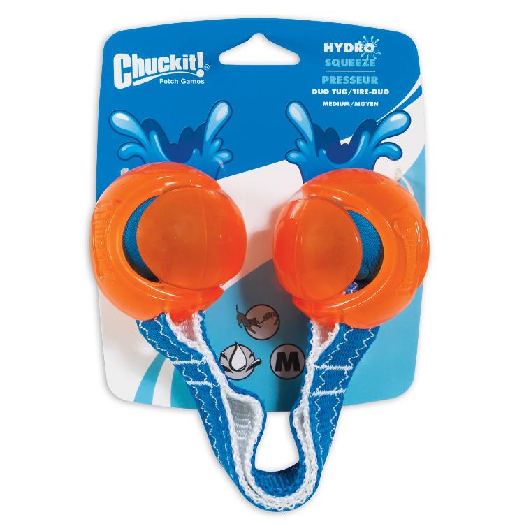 CHUCKIT! Hydro Squeeze Duo Tug