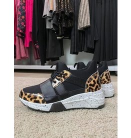 Todzi Sneaker met luipaard print