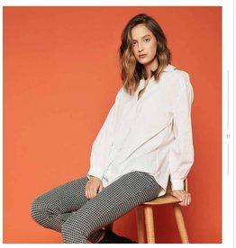 Hailys wit oversized hemdje
